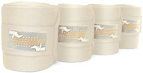 Schockemoehle Fleece Bandages - Cream