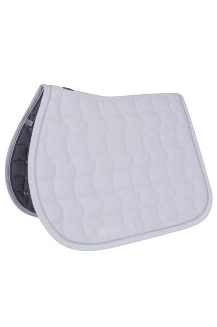 Harcour Selwyn Dressage Saddle Pad - White Full