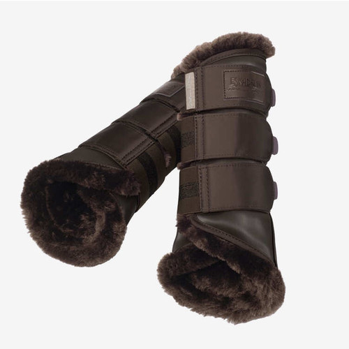 Eskadron Softslate Fauxfur Platinum 20 Tendon Boots