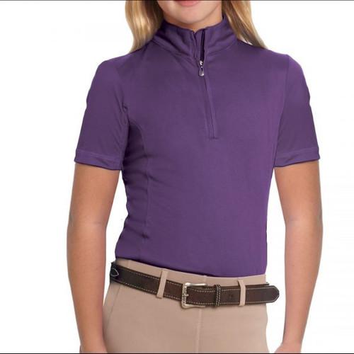 Ovation Child's Cool Rider Tech Short Sleeve Shirt
