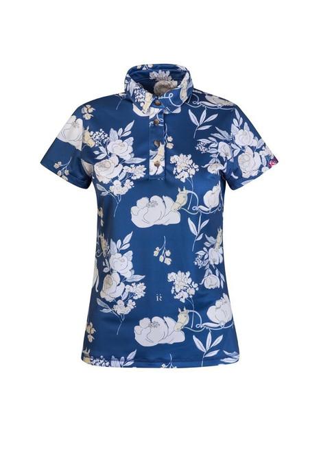 Ronner Noelia Polo Shirt Short Sleeve - Jardin Navy