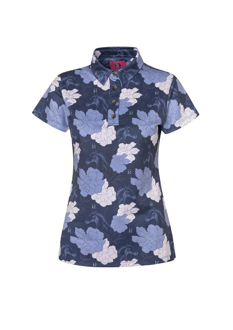 Ronner Rosa Polo Short Sleeve - Navy