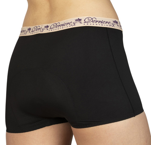 Derriere Equestrian Performance Padded Shorty - Female
