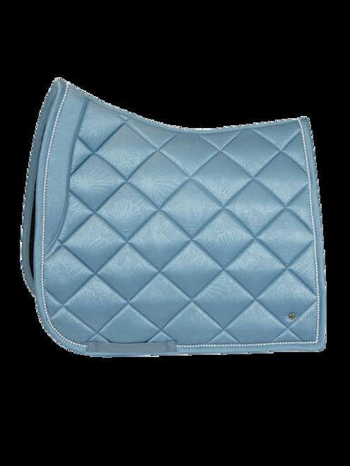 PS of Sweden Floret Dressage Saddle Pad - Aqua