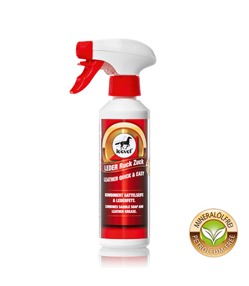 Leovet Leather Care - Quick and Easy