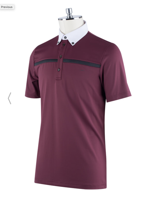 Animo SS19 Alu Men's Short Sleeve Competition Shirt