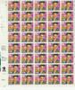 US- 1993 Elvis Presley  Complete Sheet of 40 (29c)- #2721 sold w/First Day Ceremony Program
