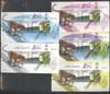 INDONESIA (2006)- Stamp Expo- souvenir sheets-  (5)  Cheetah- Fruit on Tree- e