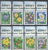 JERSEY (2007) - Wildflower Definitives III  (8 values)
