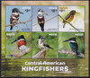 NEVIS- Kingfishers 2015- Sheet of 6