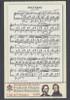 VATICAN (2009)-  CHOPIN & SCHUMANN ANNIVERSARIES SHEET- MUSICAL NOTES, PORTRAITS