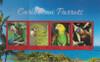 ST. VINCENT (2018)- Parrots of the Caribbean - Sheet of 4 & s.s.