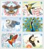 JERSEY (2019)- EUROPA- NATIONAL BIRDS (6v)