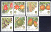 BR. VIRGIN ISLANDS (2004) Fruit Definitives-7 values