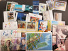 WORLDWIDE Lot Of 100+ Sets And Souvenir Sheets Retail Individually To $10  GREAT DEAL.!