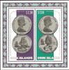 COOK ISLANDS (1974)- Captain Cook Bicentenary Souvenir Sheet- SCV=$40!