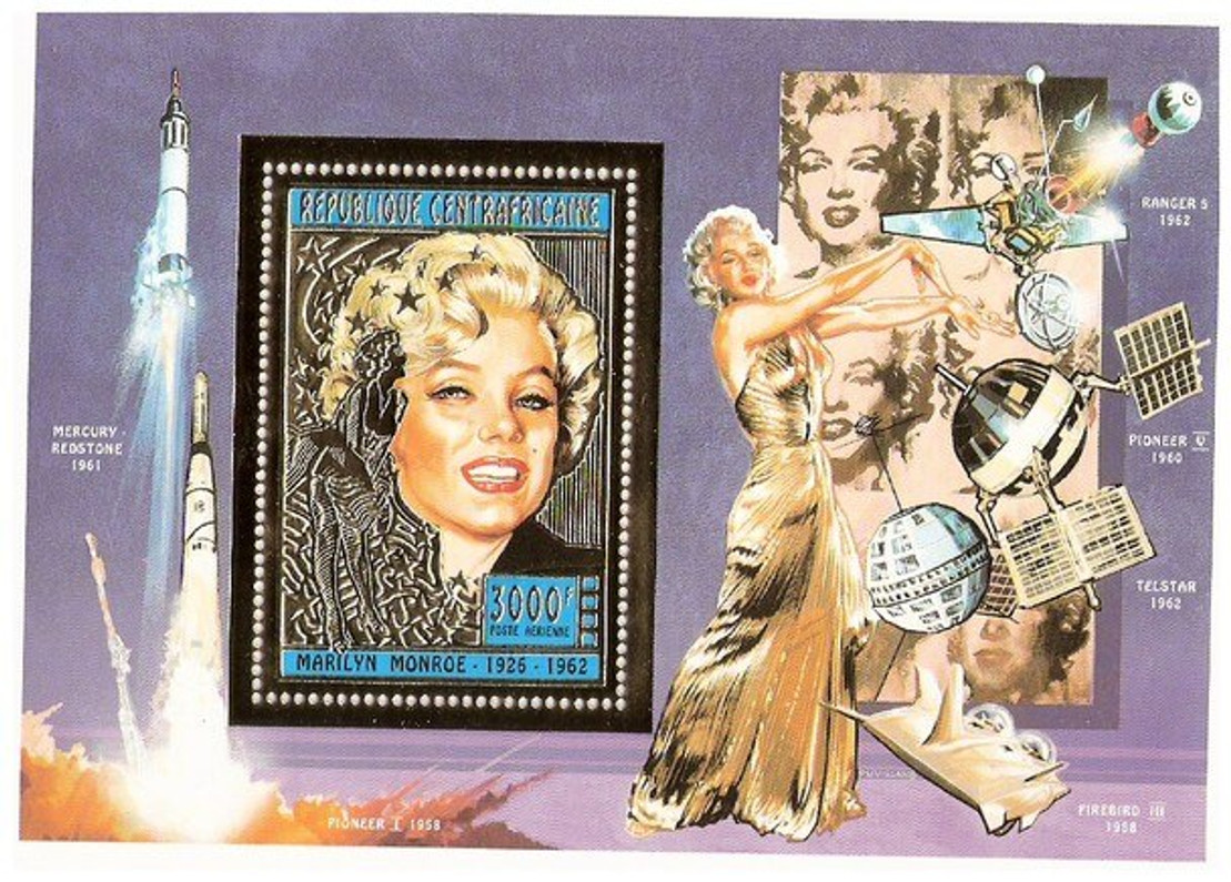 THE PHILATELIC INFATUATION WITH NORMA JEAN