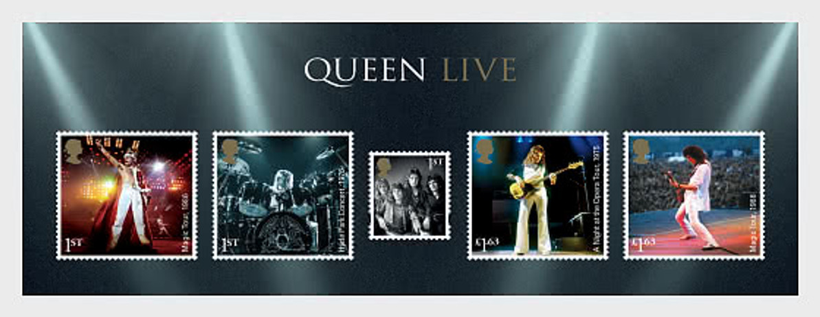 GREAT BRITAIN ADDS THE ROCK BAND QUEEN TO ITS MUSIC GIANTS SERIES