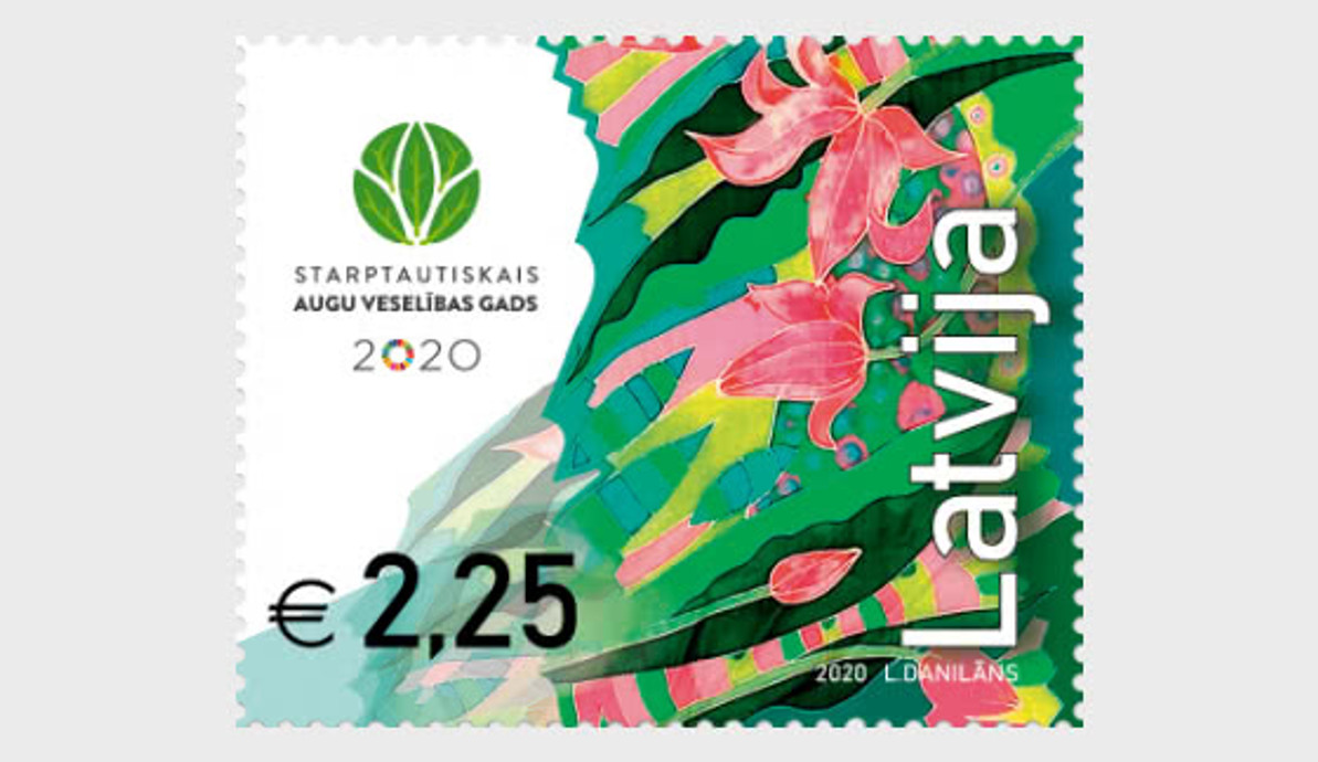INTERNATIONAL YEAR OF PLANT HEALTH PROMOTED ON WORLDWIDE STAMPS