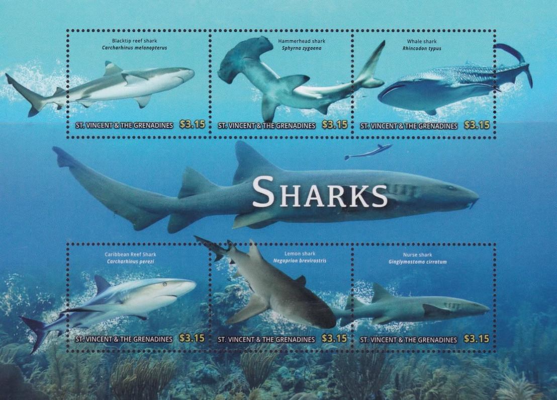 SHARKS CIRCLING PHILATELIC CIRCLES!
