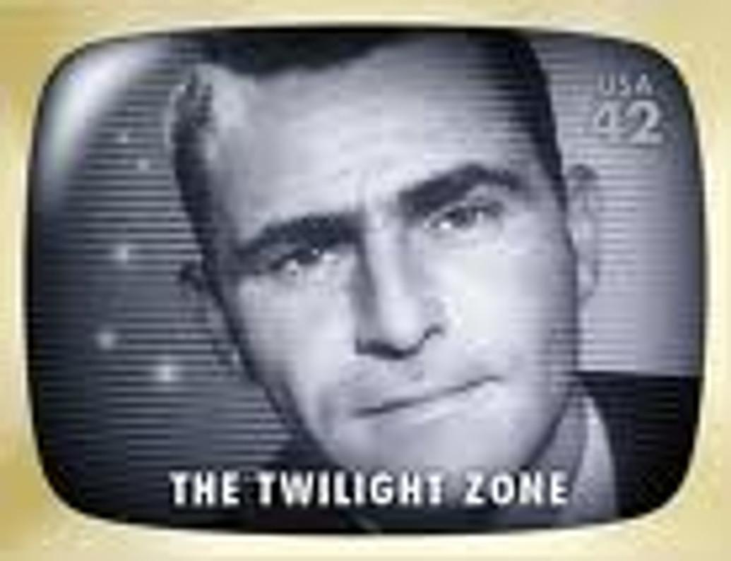 The Twilight Zone Postage Stamp