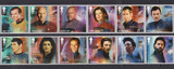 STAMPS THAT CAN TRANSPORT YOU TO NEW GALACTIC FRONTIERS- -STAR TREK
