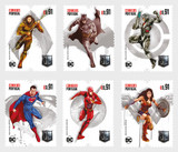 WHAT CAN SAVE THE WORLD NOW?  PORTUGAL HAS THE ANWER IN SIX STAMPS!  SUPERHEROES!