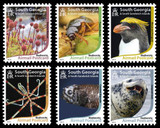 SOUTH GEORGIA  & SANDWITCH ISLANDS- STAMPS FROM THE POLAR REGION OF THE SOUTH ATLANTIC