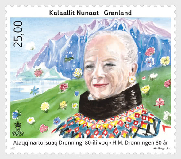 GREENLAND  (2020)-Queen's 80th Birthday