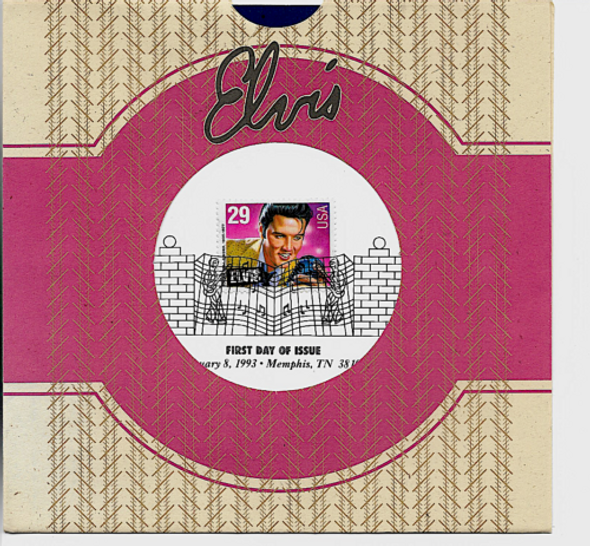 US- 1993 Elvis Presley  Complete Sheet of 40 (29c)- #2721 sold w/First Day Ceremony Program