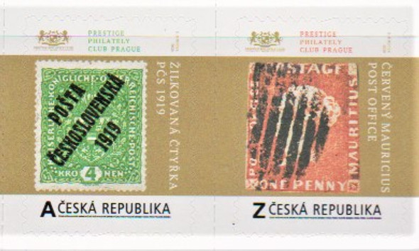 CZECH REP. 2020-Rare Stamps (self-adhesives)- 2v