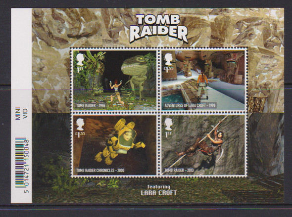 GR. BRITAIN 2020- Tomb Raider (video game) Sheet