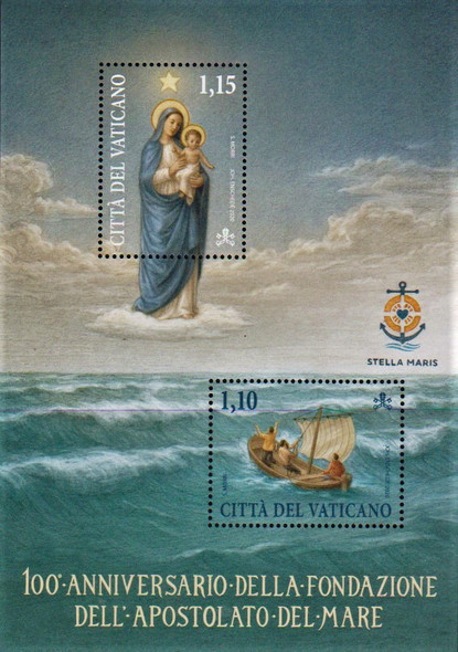 VATICAN CITY (2020)- Apostolate of the Sea Sheet