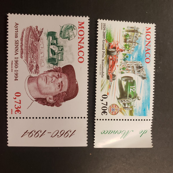 MONACO (2009).Automobile, Racing, Grand Prix, Senna (2v)