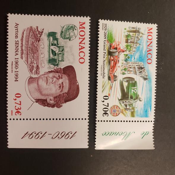 MONACO (2009).Automobile, Racing, Grand Prix, Senna (2v)