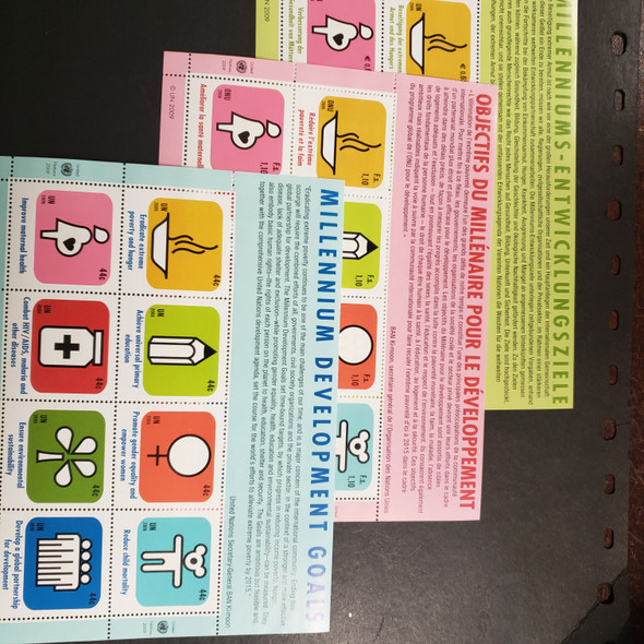 UNITED NATIONS (2009) Millennium Development Goals Sheet Set