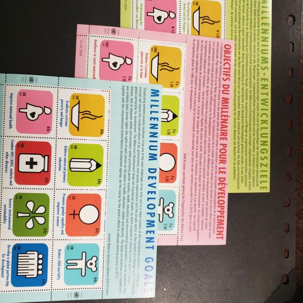 UNITED NATIONS (2009) Millennium Development Goals Sheet Set