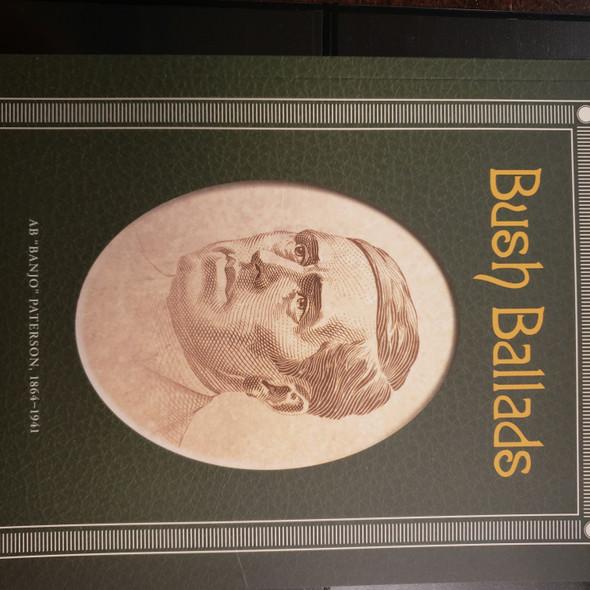 AUSTRALIA (2015) Booklet, Bush Ballads , Banjo Patterson LAST ONE