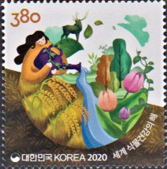 KOREA (2021)- International Year of Plants