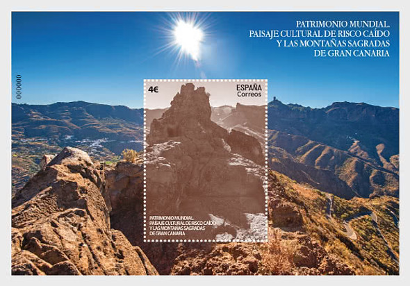 SPAIN (2020)- World Heritage - Risco Caído And Sacred Mountains of Gran Canaria