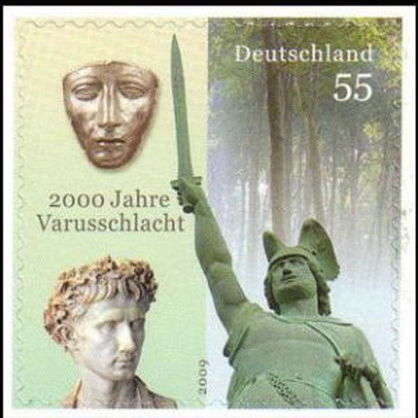 GERMANY (2009)- 2000 ANNIVERSARY OF VARUS BATTLE- TEUTOBERG FOREST COMPLETE BOOK