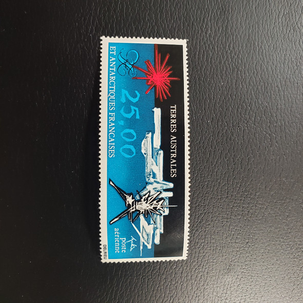 FRENCH ANTARCTIC C77 Airmail , Abstract (1v)