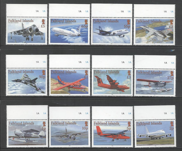 FALKLAND ISLANDS (2008) - Aircraft  (12 values)
