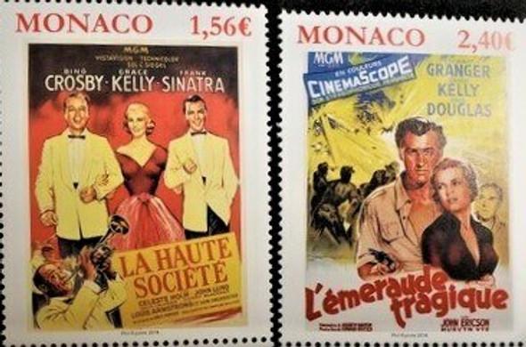 MONACO (2018)-- Grace  Kelly Movie Posters (2v)