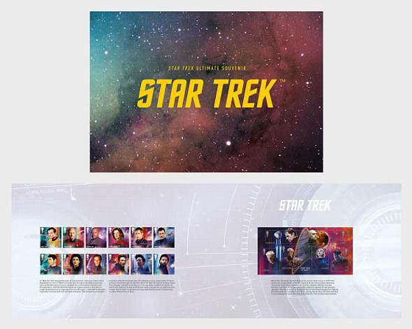 GREAT BRITAIN (2021)- Star Trek Presentation Pack- Stamps & Sheet