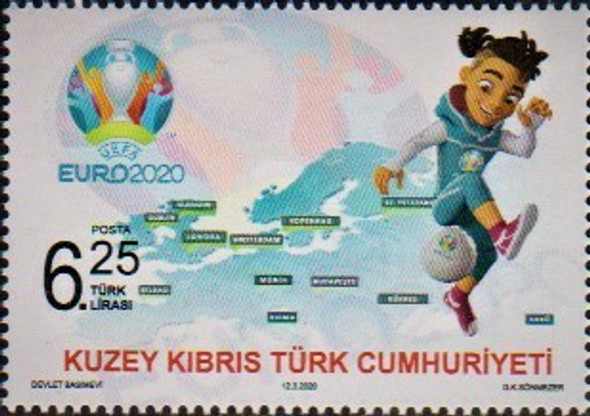 CYPRUS (TURKISH)  (2020)- -EURO SOCCER 2020- MAP