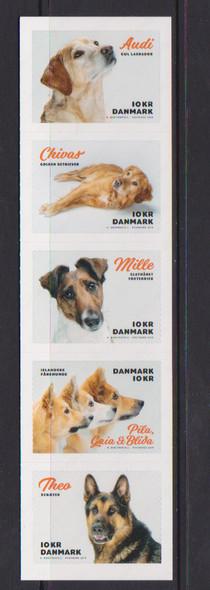 DENMARK (2019)-- DOGS (5v)