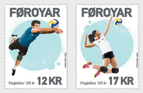 FAROE ISLANDS- -VOLLEYBALL (2v)