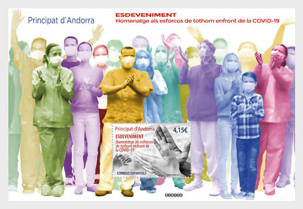 SP. ANDORRA (2021)- COVID-19 SHEET- Helping Hands Tribute