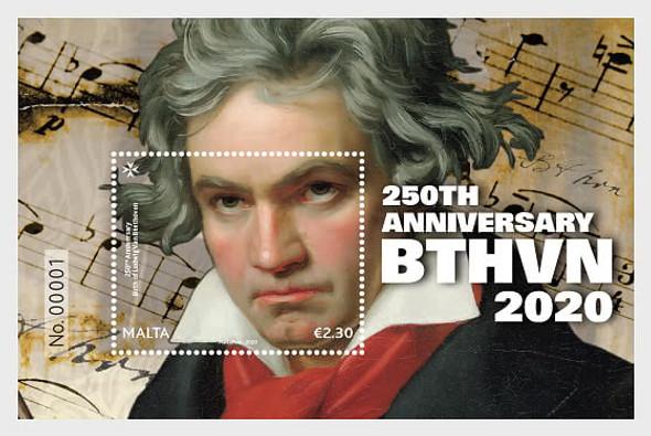 MALTA (2020)- 250th Anniversary of Beethoven Sheet